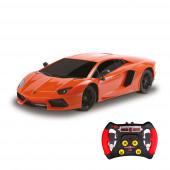 Carro R/C 1:43 IR Lamborghini Aventador Laranja