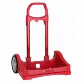 Carro Trolley escolar Evolutivo vermelho
