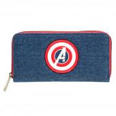 Carteira Capitão América Avengers Marvel Ganga