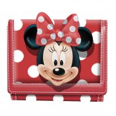 Carteira Disney Minnie White Dots