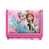 Carteira Frozen Sister Queen Pink
