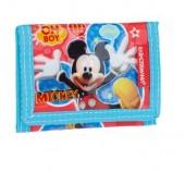 Carteira infantil velcro Disney - Mickey