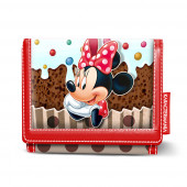 Carteira infantil velcro Minnie Disney - Muffin