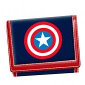 Carteira Marvel Capitão America Escudo