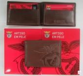 Carteira Pele Pequena Benfica SLB