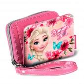 Carteira porta moedas Elsa Frozen - Summer Chill