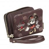 Carteira porta moedas medio Disney Minnie Mon Amour