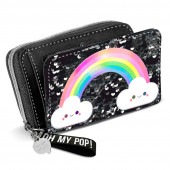 Carteira Porta Moedas Oh My Pop Rainbow