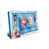 Carteira + Relógio Digital Frozen