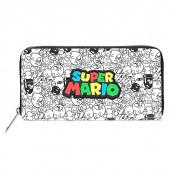 Carteira Super Mario Logo Nintendo