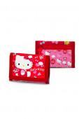 Carteira Velcro Hello Kitty Lacinho