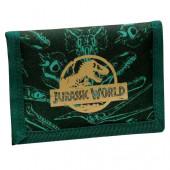 Carteira Velcro Jurassic World Verde
