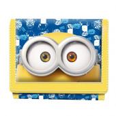 Carteira Velcro Minions Googles