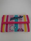 Carteira Velcro Minnie