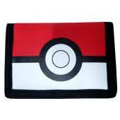 Carteira Velcro Pokémon Pokebola