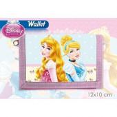 Carteira Velcro Princesas Disney