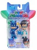 Catboy e Romeo - Pack de 2 figuras 8cm com Luz PJ Masks