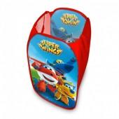 Cesto de arrumação brinquedos SuperWings disney