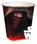 Cesto Papeis 21,5cm em PVC Star Wars