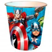 Cesto Papeis Marvel Avengers Team