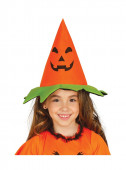 Chapéu Abóbora Infantil Halloween