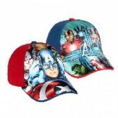 Chapéu CAP Marvel Avengers Red Blue