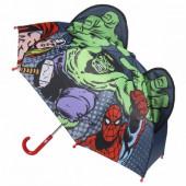 Chapéu Chuva 3D da Marvel 42cm
