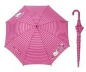 Chapeu Chuva automatico Hello Kitty Pink