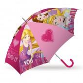 Chapéu chuva automático Princesas Disney 45cm