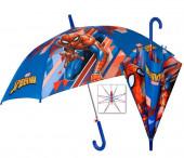 Chapéu Chuva Automático Spiderman Marvel 48cm