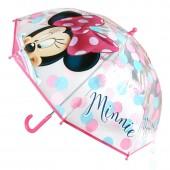 Chapéu chuva bolha transparente Minnie Mouse - Estudante
