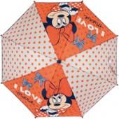 Chapéu chuva branco/laranja DisneyI love Minnie