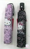 Chapéu chuva curto Hello Kitty - sotrtido