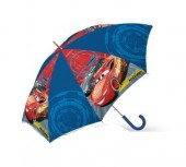 Chapéu chuva manual  40cm - Cars Disney