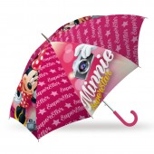 Chapéu chuva manual Disney Minnie Super Star