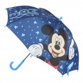 Chapéu Chuva Manual Mickey Azul 42cm