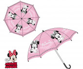 Chapéu Chuva Manual Minnie Rosa 46cm