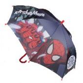 Chapeu chuva manual Spiderman 42cm