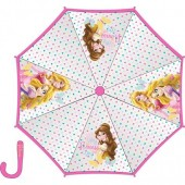 Chapeu Chuva Manual Transparente Princesas Disney