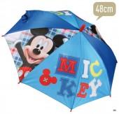 Chapéu chuva Mickey azul