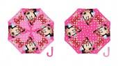 Chapéu chuva rosa Disney Minnie Automático 48cm