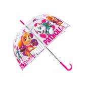 Chapéu-chuva Transparente 48cm Patrulha Pata Skye