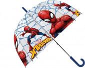 Chapéu Chuva Transparente Homem-Aranha 48cm