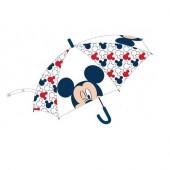 Chapéu Chuva Transparente Mickey 44cm