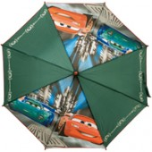 Chapéu chuva verde Disney Cars 48cm