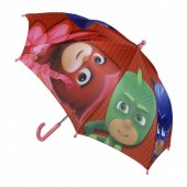 Chapéu chuva vermelho Pj Masks 42cm