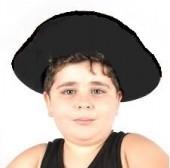 Chapéu de pirata dos sete mares