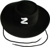 Chapéu Zorro Criança