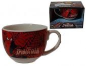 Chávena almoçadeora + base Spiderman Marvel