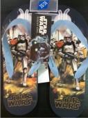 Chinelos azuis Flip-Flop dos Star Wars